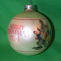 1974 Norman Rockwell Hallmark Ornament