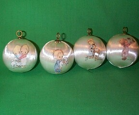 1975 Betsey Clark - 4 Piece Set Hallmark Ornament