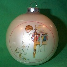 1975 Norman Rockwell Hallmark Ornament