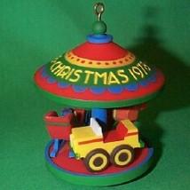 1978 Carousel #1 - Toys - MNT Hallmark Ornament