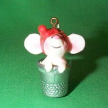 1978 Thimble #1 - Mouse Hallmark Ornament