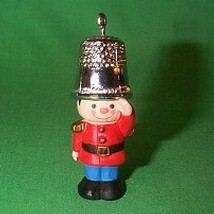 1979 Thimble #2 - Soldier - NB Hallmark Ornament
