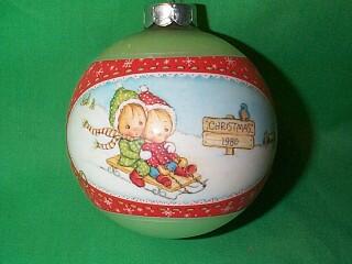 1980 Betsey Clark #8 Hallmark Ornament