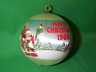 1980 Disney Hallmark Ornament