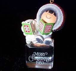 1980 Frosty Friends #1 - Cool Yule - NB Hallmark Ornament