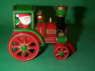 1980 Here Comes Santa #2 - Santa Express - MNT Hallmark Ornament