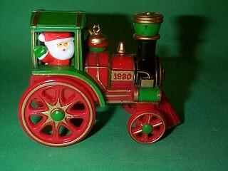 1980 Here Comes Santa #2 - Santa Express - SDB Hallmark Ornament