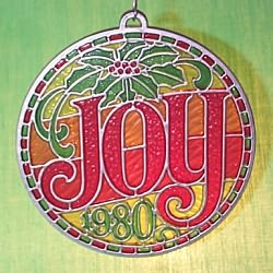 1980 Joy - Ambassador Hallmark Ornament