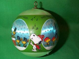 1980 Peanuts Hallmark Ornament