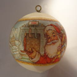 1980 Santas Visit - Ambassador - NB Hallmark Ornament