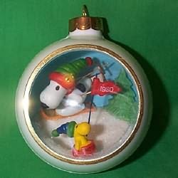 1980 Snoopy And Friends #2 Hallmark Ornament