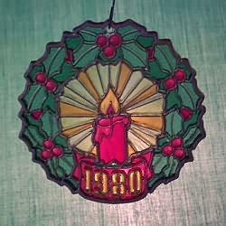1980 Wreath - Ambassador - NB Hallmark Ornament