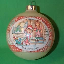 1981 Betsey Clark #9 Hallmark Ornament