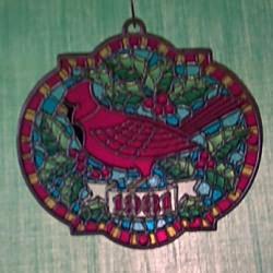1981 Cardinal - Ambassador Hallmark Ornament