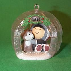 1981 Frosty Friends #2 - Igloo - MNT Hallmark Ornament