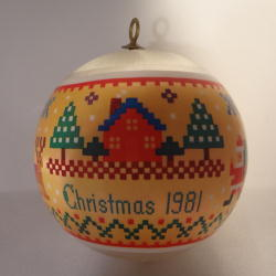 1981 Home - Ambassador - NB Hallmark Ornament