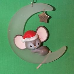 1981 Mouse On Moon - Ambassador - NB Hallmark Ornament