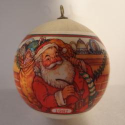 1981 Santas Visit - Ambassador - NB Hallmark Ornament