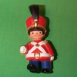 1981 Soldier - Ambassador Hallmark Ornament