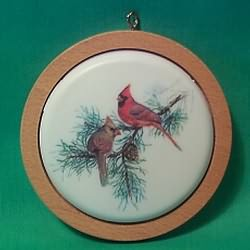1982 Holiday Wildlife #1 - Cardinals Hallmark Ornament