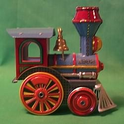 1982 Tin Locomotive #1 - NB Hallmark Ornament