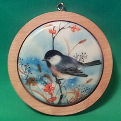 1983 Holiday Wildlife #2 - Chickadees Hallmark Ornament