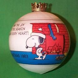 1983 Peanuts - DB Hallmark Ornament