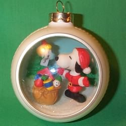1983 Snoopy And Friends #5f - SDB Hallmark Ornament