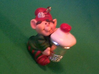 1983 Thimble #6 - Elf - NB Hallmark Ornament