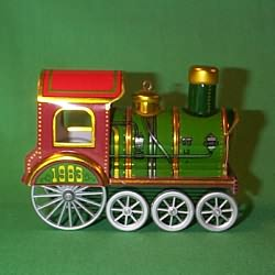 1983 Tin Locomotive #2 Hallmark Ornament