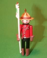 1984 Clothespin Soldier #3 - Canadian Hallmark Ornament