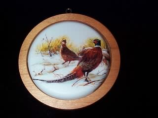 1984 Holiday Wildlife #3 - Ring-necked Pheasant Hallmark Ornament