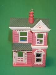 1984 Nostalgic Houses #1 -  Dollhouse Hallmark Ornament
