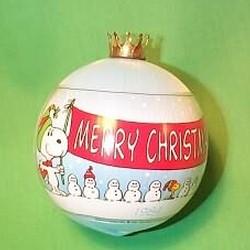 1984 Peanuts Hallmark Ornament