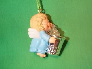 1984 Thimble #7 - Blue Angel Hallmark Ornament