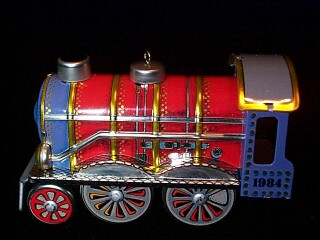 1984 Tin Locomotive #3 Hallmark Ornament