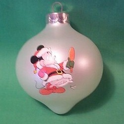 1985 Disney Christmas Hallmark Ornament