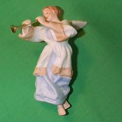 1985 Heavenly Trumpeter Hallmark Ornament