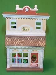 1985 Nostalgic Houses #2 -  Toy Shop Hallmark Ornament