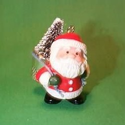 1985 Thimble #8 - Santa Hallmark Ornament
