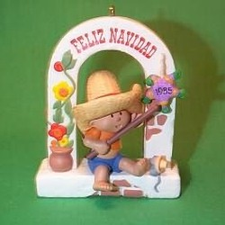 1985 Windows Of The World #1 - Mexican Hallmark Ornament