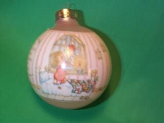 1986 Betsey Clark #1 - Home For Christmas Hallmark Ornament