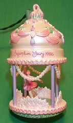1986 Christmas Classics #1 - Sugarplum Fairy Hallmark Ornament