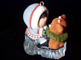 1986 Frosty Friends #7 - Reindeer - NB Hallmark Ornament