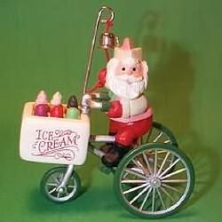 1986 Here Comes Santa #8 - Kool Treats - NB Hallmark Ornament