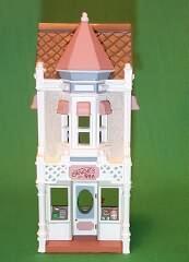 1986 Nostalgic Houses #3 -  Candy Shoppe Hallmark Ornament