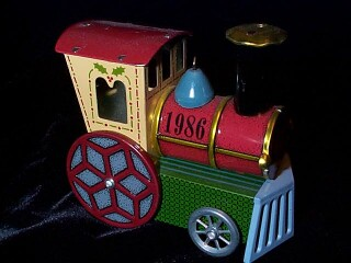 1986 Tin Locomotive #5 Hallmark Ornament