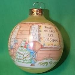1987 Betsey Clark #2 - Home For Christmas Hallmark Ornament