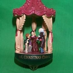 1987 Christmas Classics 2 - Christmas Carol - MNT Hallmark Ornament