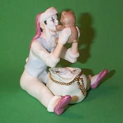 1987 Christmas Time Mime Hallmark Ornament